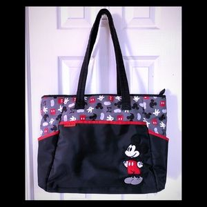 EUC Disney Mickey Mouse Large Tote Bag